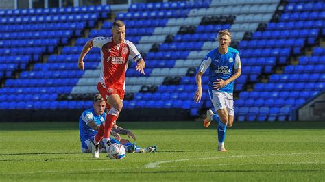 Highlights: Peterborough United 2-1 Fleetwood Town - News ...