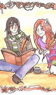 Snape and Lily by Thrumugnyr on DeviantArt