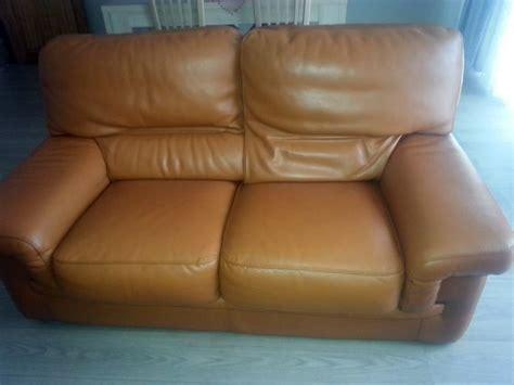 renovation canapé cuir rénovation de mes canapés en cuir marron sofolk