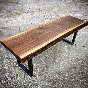 live edge black walnut coffee table by barnboardstorecom With black walnut coffee table for sale