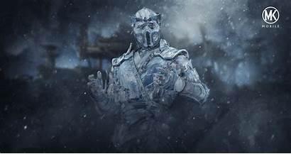 Sub Zero Background Mk Kombat Frozen Mortal