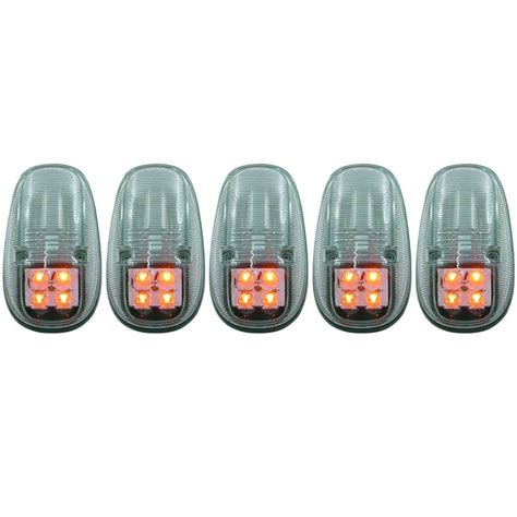 anzo 861097 clear led cab lights