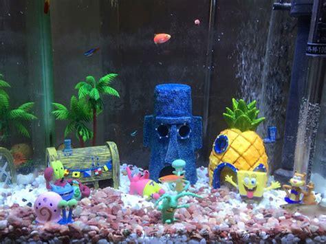 fish tank decorations cheap popular spongebob aquarium ornaments buy cheap spongebob