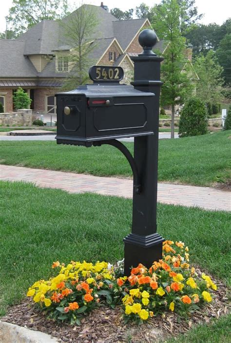 locking mailbox residential usps approved decorative mailboxes aluminum mailbxoes