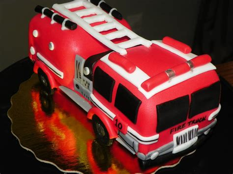 fire truck cakes decoration ideas  birthday cakes