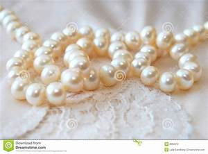 Pearl Necklace stock photo. Image of engage, marriage ...