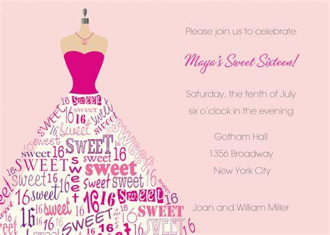 sweet  birthday invitations templates  drevio