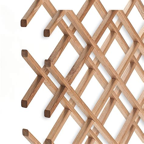 Kitchen Wine Rack Ideas - american pro decor 14 bottle trimmable wine rack lattice panel inserts in unfinished solid north