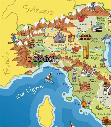 Carte Touristique Nord Ouest by Infos Sur Carte Italie Nord Ouest Arts Et Voyages