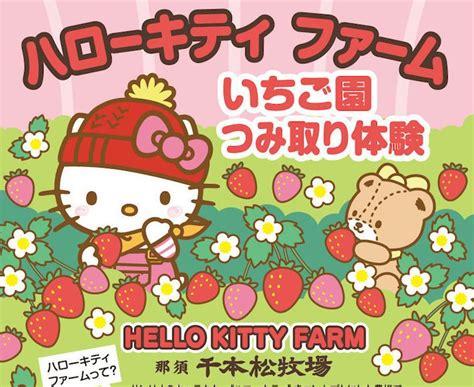 Hello Kitty / Strawberry Picking