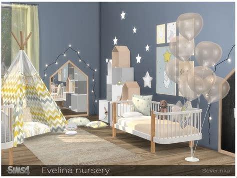 sims resource evelina nursery  severinka sims