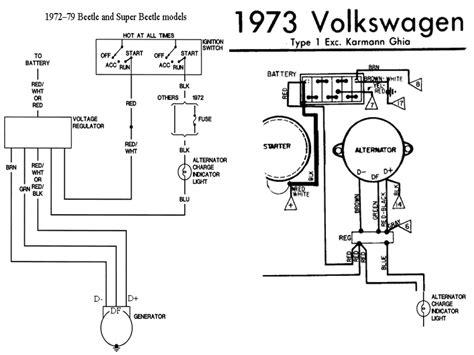 1973 vw super beetle engine wiring diagram