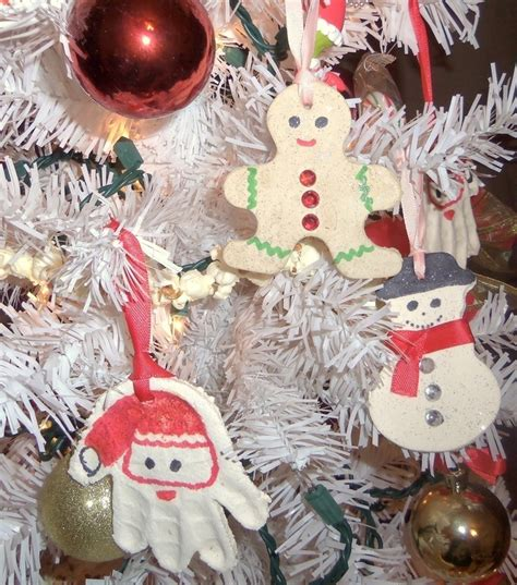 salt dough christmas ornaments     christmas