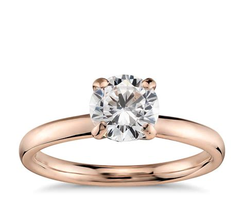 monique lhuillier amour solitaire engagement ring in 18k