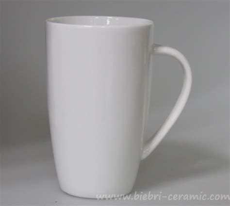 Plain White Ceramic Porcelain Coffee Tea Mugs Cups For Logo Decal Artwork Design Printing   Buy