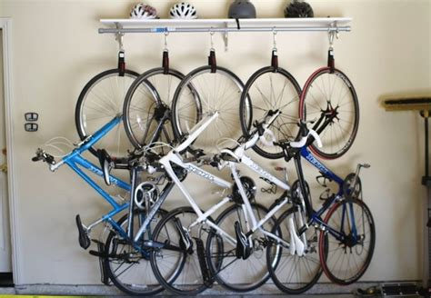 Ceiling Bike Rack Diy by Make Your Own Ceiling Bike Rack For 50 163 35 Two