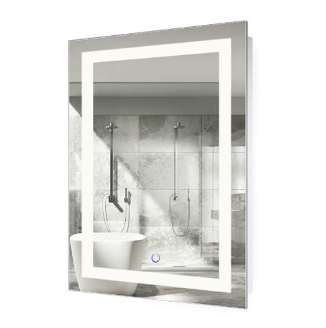 Small Led Bathroom Mirrors by Led Lighted 24 X36 Bathroom Mirror With Dimmer Defogger