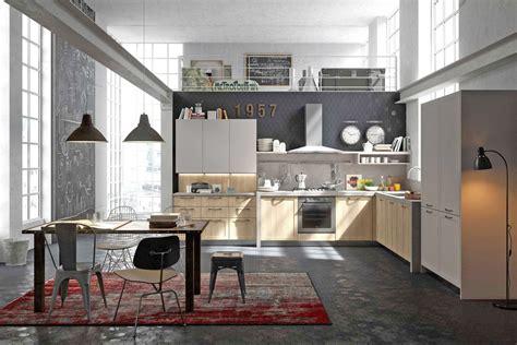 cuisine style design industriel idéal pour loft ou grande