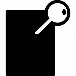 Key access button - Free interface icons
