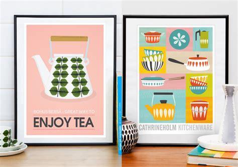 poster cuisine moderne les affiches rétro de handz joli place