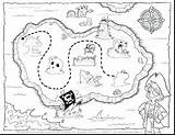 Treasure Coloring Map Europe Pages Printable Pirate Getcolorings Getdrawings sketch template