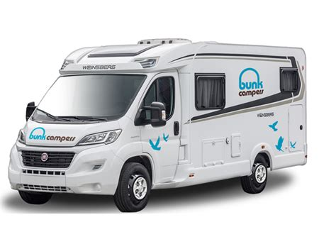 Bunk Campers   Europa ? 4 Person Luxury Motorhome Hire   4