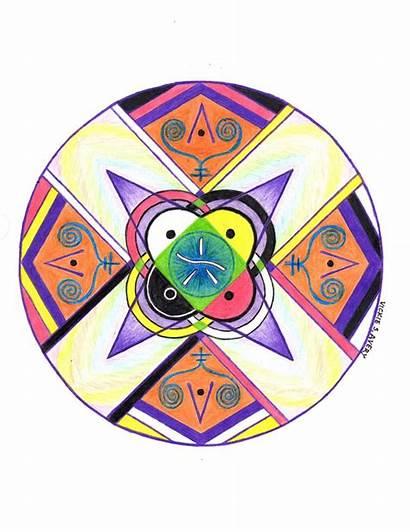 Angelic Mandala Symbols Avery Vickie Las