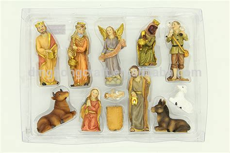 wholesale cheap indoor decorative polyresin nativity sets