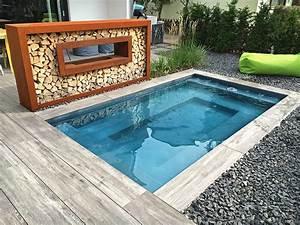 Kleiner Pool Terrasse : kleiner pool im garten pool f r kleine grundst cke pool pinterest kleiner pool garten ~ Sanjose-hotels-ca.com Haus und Dekorationen