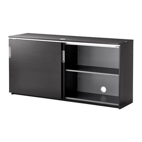 galant cabinet with doors galant cabinet with sliding doors black brown 160x80 cm ikea