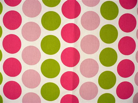 Fancy Candy Pink / Chartreuse Fabric