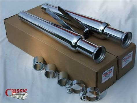 Universal Megaphone Exhaust Silencerstulip Type To Classic