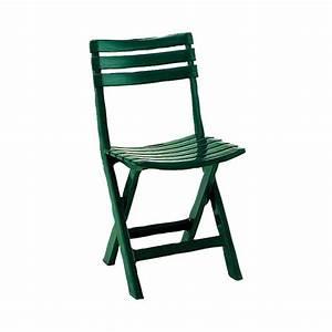 Chaise Jardin Plastique : table de jardin verte en plastique ~ Teatrodelosmanantiales.com Idées de Décoration