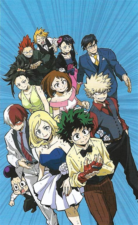 My Hero Academia Heroes Rising Wallpaper Showing All