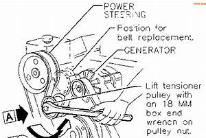 97 Buick Park Avenue Serpentine Belt Diagram