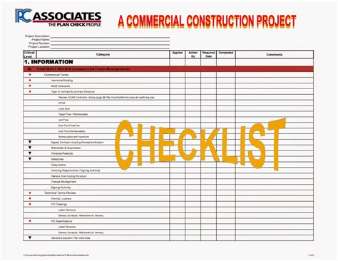 Construction Project Process Template by Construction Processes Review