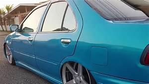 Nissan Sentra B14 Slammed Static Esmc Customs