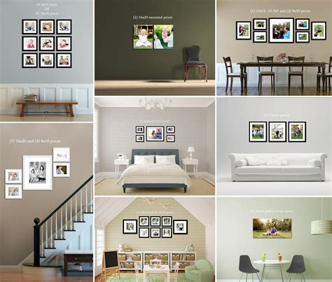 Bilder Anordnen Wand by Frames On Wall Ideas Prints Canvas Frames On Wall