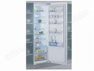 Refrigerateur Encastrable 1 Porte : whirlpool arz001 a 5 pas cher r frig rateur encastrable ~ Dailycaller-alerts.com Idées de Décoration
