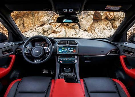 jaguar  pace interior pictures   suv