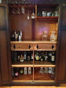 17 Best Images About Armoire Bar Ideas On Pinterest