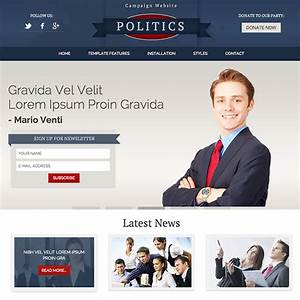 politics hot responsive joomla template webprojek With political newsletter template
