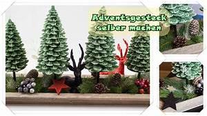 Adventsgestecke Selber Machen : adventsgesteck selber machen mit tollen tannenbaum adventskerzen ~ Frokenaadalensverden.com Haus und Dekorationen