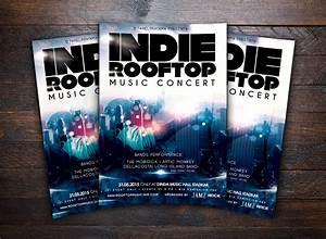 Rooftop Music Concert Flyer