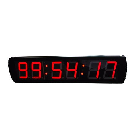 large digital clock seconds promotion shop promotional large