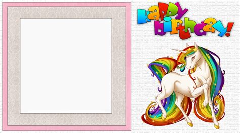 unicorn invitation templates designed  meet