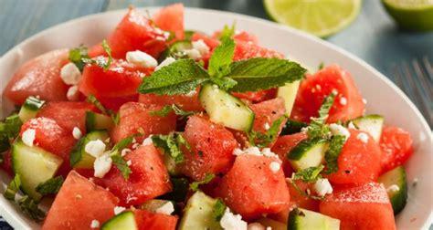 mediterranean watermelon salad recipe ndtv food