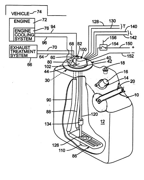 patent us20100162690 urea tank with closure member for vehicle exhaust system patents