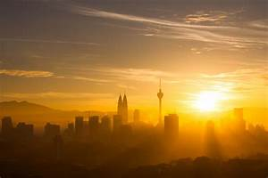 Sunrise on KL Skyline