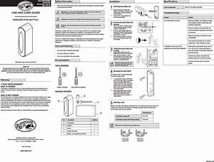 User Manual For Heathco Llc Wl-18
